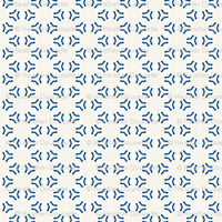 Acrylic Blue Triangular Circles - heatherdoucette - Spoonflower