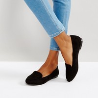 New Look Tab Slipper Flat Shoe at asos.com