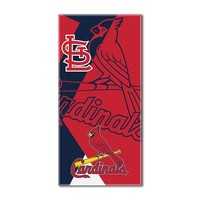 St. Louis Cardinals MLB ?Puzzle? Over-sized Beach Towel (34in x 72in)