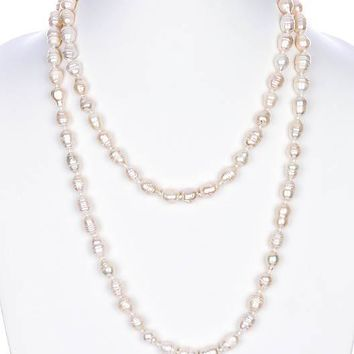 Fresh Water Pearl Extra Long Necklace