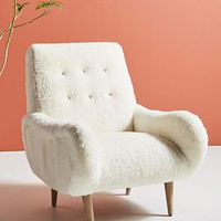 Wool Losange Chair