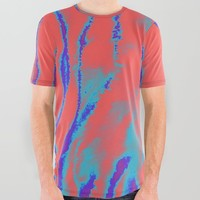 fake out All Over Graphic Tee by duckyb
