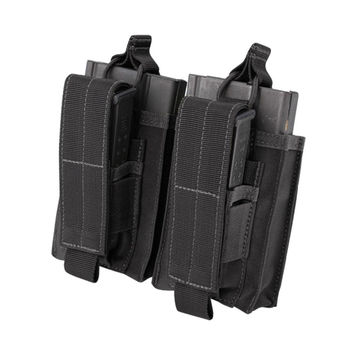 Double M14 Kangaroo Mag Pouch - Color: Black