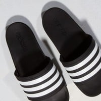 adidas Slides in Black White