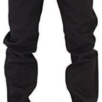 Rocawear Mens Boys Black Double R Star Relaxed Fit Jeans Is Money G Hip Hop Time (W38 - L34, Black)