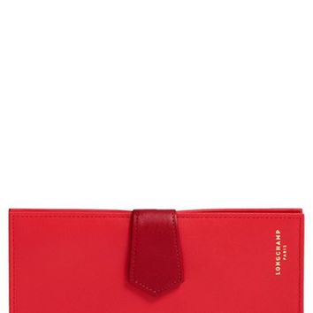 Longchamp '2.0' Leather Checkbook Wallet | Nordstrom