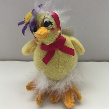 Annalee Dolls 5in 2013 Spring Yellow Chick Plush New with Tags