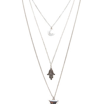 Moonstruck Layered Necklace | Wet Seal
