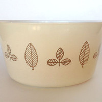 Vintage Cinderella, Buffet Twins Promotional Round Casserole, Pyrex #473 (1 Qt) Bowl, 1959, Replacement Bowl