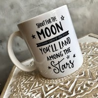 Shoot for the Moon Mug