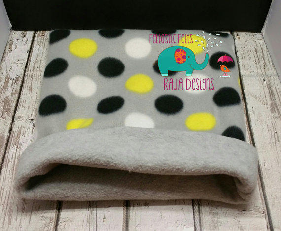Fleece Cozy Cup Snuggle Sack Bed Tube From Designs By Raja