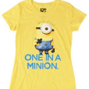 Despicable Me One In A Minion T-Shirt | Bealls Florida