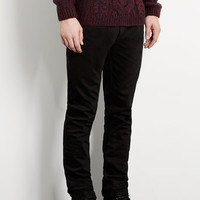 Black Vintage Slim Jeans - Last Chance To Buy - Clothing