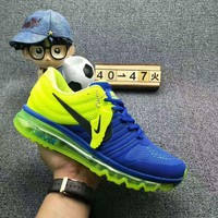 NIKE AIR MAX Fashion Sport Casual Shoes Sneakers Sapphire blue