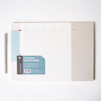 Monthly Scheduler Desk Notepad