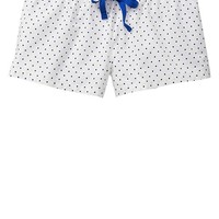 Gap Women Factory Print Poplin Shorts