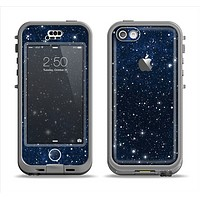 The Bright Starry Sky Apple iPhone 5c LifeProof Nuud Case Skin Set