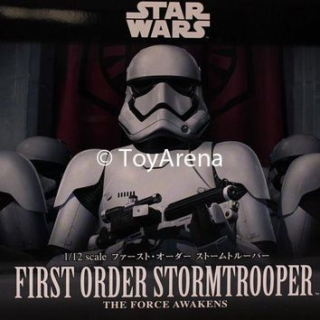 Star Wars 1/12 Scale First Order Storm Trooper The Force Awakens Model Kit USA