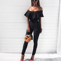 Alex Stylish Bandage Jumpsuit