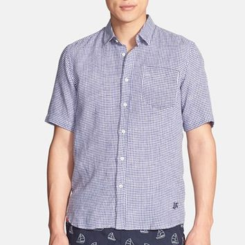 Men's Vilebrequin 'Caramix' Trim Fit Gingham Shirt,