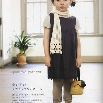 Natural Clothes for Girl and Mom - Japanese Sewing Pattern Book for Children, Women - Heart Warming Life Series, Pochee Special Issue - B21