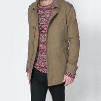 TRENCH COAT WITH POCKETS - Coats and Trench coats - Man | ZARA United States
