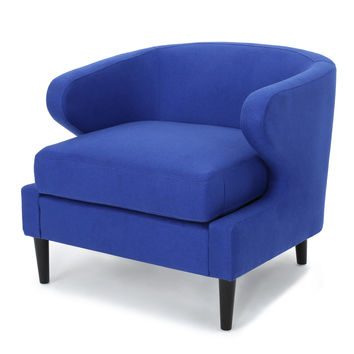 Nuage Decorative Modern Fabric Accent Chair