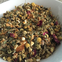 Bath Tea with Lavender and Chamomile // Soothing Herbal Bath Tea // All Natural, Botanical Blend // Bath and Beauty