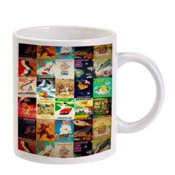 Gift Mugs | Vintage Disney Poster Ceramic Coffee Mugs