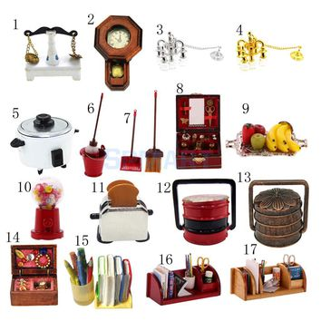 1:12 Dollhouse Miniature Furniture Living Room Kitchen Accessories Candy Machine Kids Pretend Play Toy
