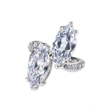 Zircon Ring Jewelry Set