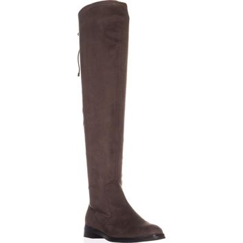 Kenneth Cole REACTION Wind Chime Over-the-Knee Winter Boots, Dark Mushroom, 8 US / 39 EU