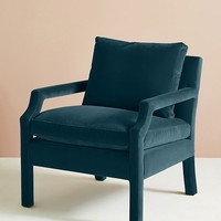 Velvet Delaney Chair