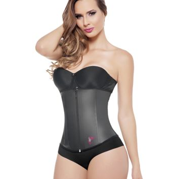"""All Latex"" Invisible Shapewaist with Zipper"