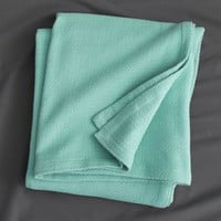 Classic Aqua Full/queen Blanket