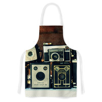 "Robin Dickinson ""Through the Years"" Vintage Camera Artistic Apron"