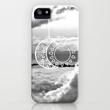 Black & White Love iPhone & iPod Case by Pink Berry Pattern