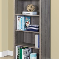 Monarch Specialties | Taupe Bookcase | HauteLook