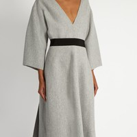 V-neck wool dress | Maison Rabih Kayrouz | MATCHESFASHION.COM US