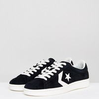 Converse Pro Leather 76 Ox Sneakers In Black 157838C001 at asos.com