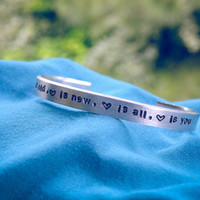 Love Is Old, Love Is New - Beatles - Adjustable - Personalized - Custom - Lyrics - Unisex - Gift for Her