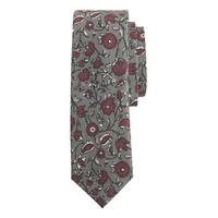 J.Crew Mens Italian Cotton Tie In Bright Floral