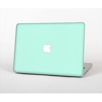 "The Subtle Solid Green Skin Set for the Apple MacBook Pro 13"" with Retina Display"