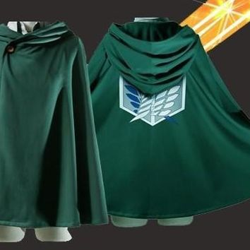 Cool Attack on Titan japan animation anime no   cosplay costume props aren liberty wings cloak cos cape AT_90_11