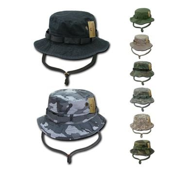 ACU Camouflage Camo OD Boonie Bucket Military Fishing Hunting Rain Hats Caps
