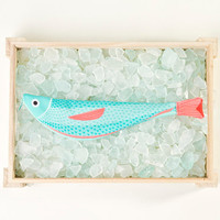 VERDIN - Case fish - 100% cotton (26 x 6, 5 cm)