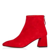 MAGGIE Flared Heel Boots - New In