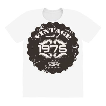 vintage made of 1975 all original parts All Over Women's T-shirt