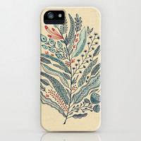 Turning Over A New Leaf iPhone & iPod Case by Monica Gifford