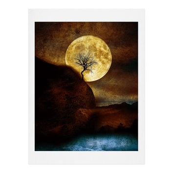 Viviana Gonzalez The Moon and the Tree Art Print